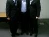 Prof. Dr.Rui Imamura, Prof. Dr. Jeferson d\'Avila e Prof. Dr. Ronaldo Frizzarini