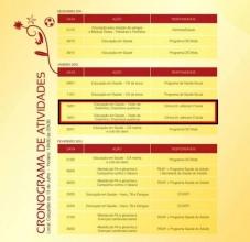 Programação do Projeto Saúde Versão 2012