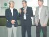 Domingos Tsuji,  Dr. Jeferson d´Avila e Dr. Paulo Perazzo