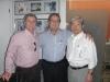 Dr. Paulo Perazzo, Dr. Jeferson d´Avila e Domingos Tsuji