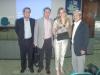 Dr. Jeferson d´Avila, Dr. Paulo Perazzo, Anna Milena Fraga e Domingos Tsuji